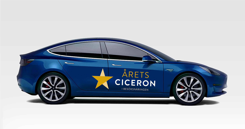 Årets ciceron - förslag på brandad bil